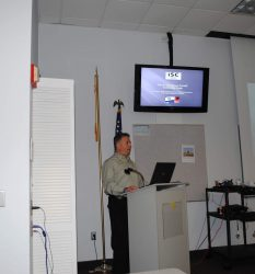 Brian Smith MKISC representative in the USA lecturing Law Enforcement Agents