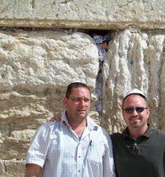 Jim Gort Former JTTF Pembroke Pines PD ( Current DHS) and Marc Kahlberg Experience Israel Western Wall Jerusalem