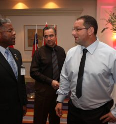 Allen West, a former U.S. Army lieutenant colonel who has been touted as a possible Republican presidential challenger and is a candidate for the United States Congress in Florida's District 22, attends a homeland security conference on December 1, 2009 in Tel Aviv, Israel. West, who resigned from the army in 2004 after being found guilty of assaulting an Iraqi police officer suspected of having information about planned attacks on American forces, is to meet with local law enforcement officials and visit the Yad Vashem Holocaust Memorail on his first visit to Israel. *** Local Caption *** Allen West