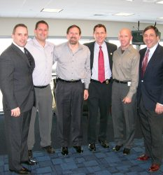 Marc Kahlberg CEO of MKISC with Connecticut Terrorism Liasion Officers, USA